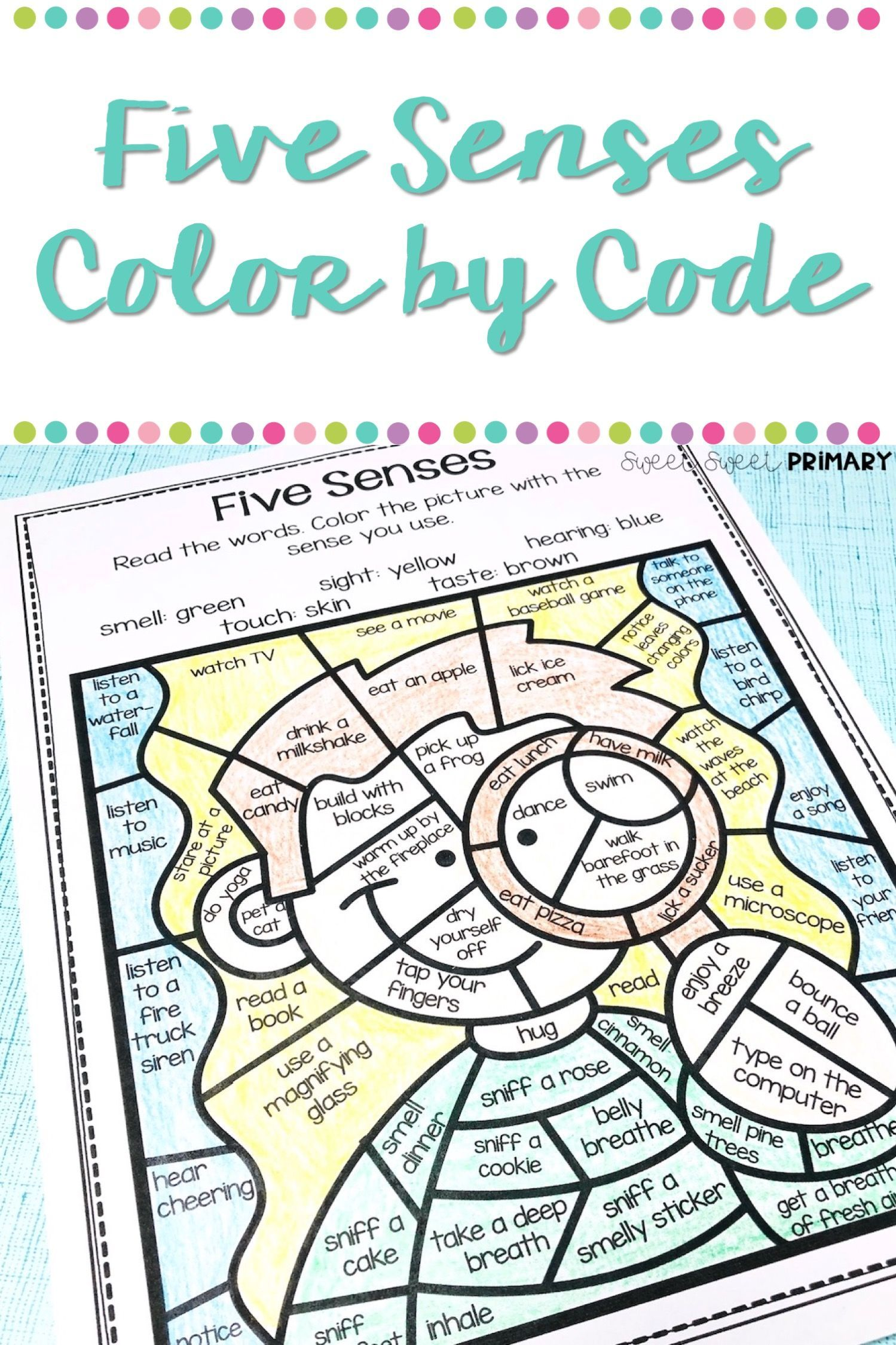 Using Color By Code In Science
