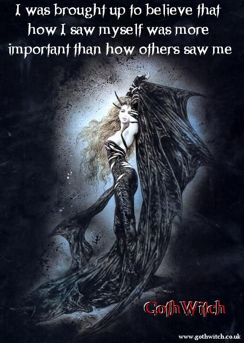 Quotes by GothWitch - Picture quotes about Gothic, Magic, Witchcraft, Love and Life