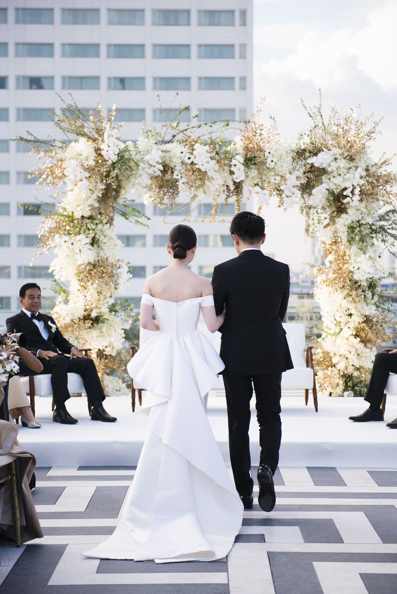 wedding shower poem ideas%0A A Stylish  Modern Approach to Thai Wedding Traditions