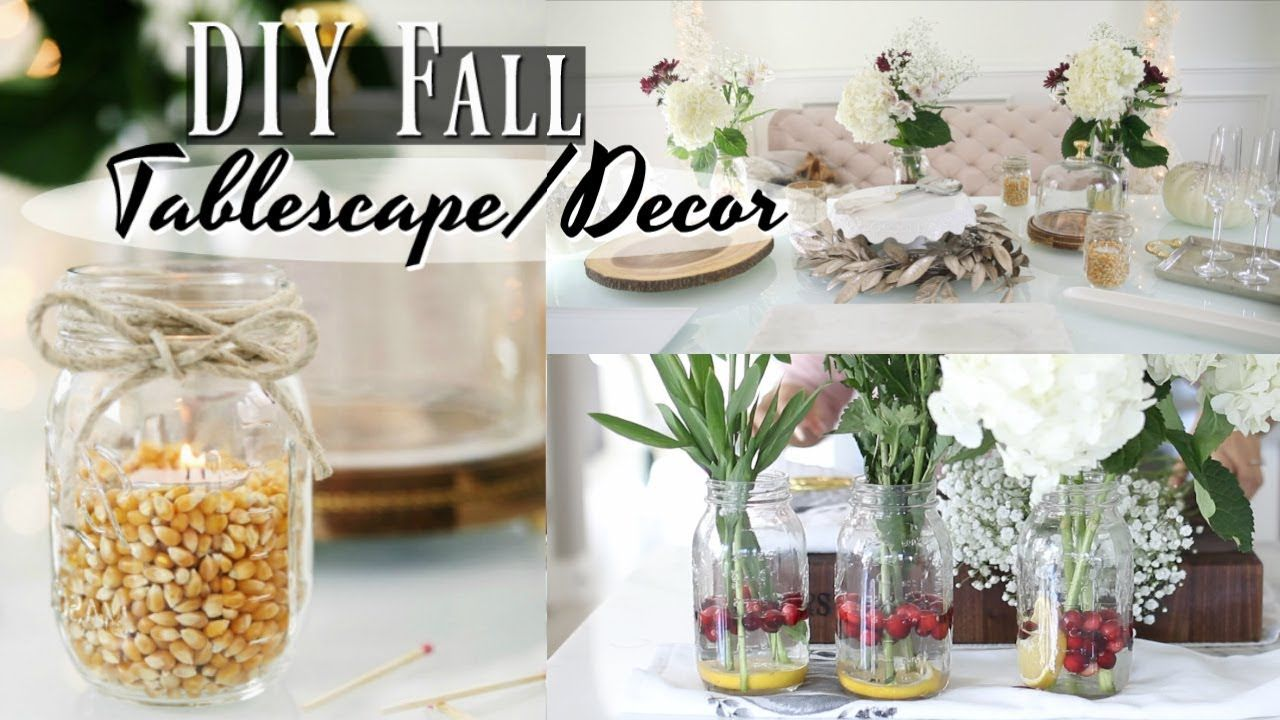 Easy DIY Table Decor for your next holiday party