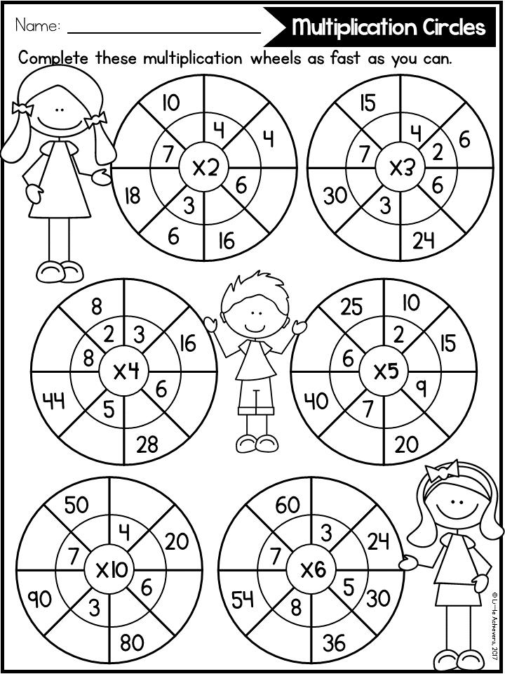 Multiplication Worksheets Multiplication Facts Distance Learning Packets Multiplication Worksheets 3rd Grade Math Worksheets Math Multiplication Worksheets