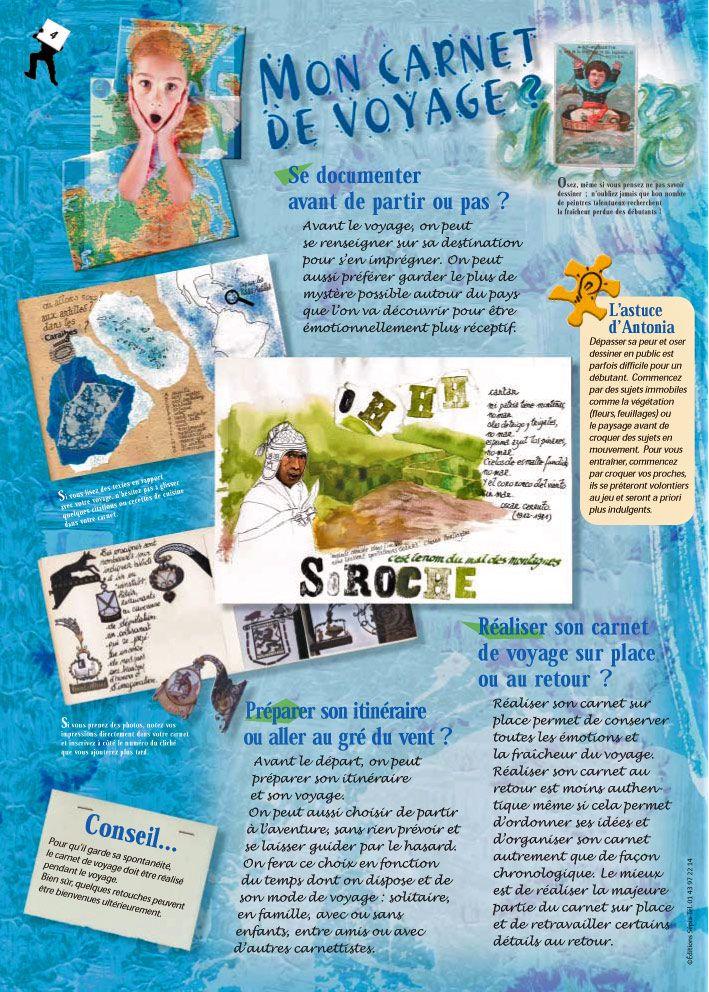 Quelques Conseils Pour Realiser Son Carnet De Voyage Carnets De Voyage Voyage Carnet De Voyage