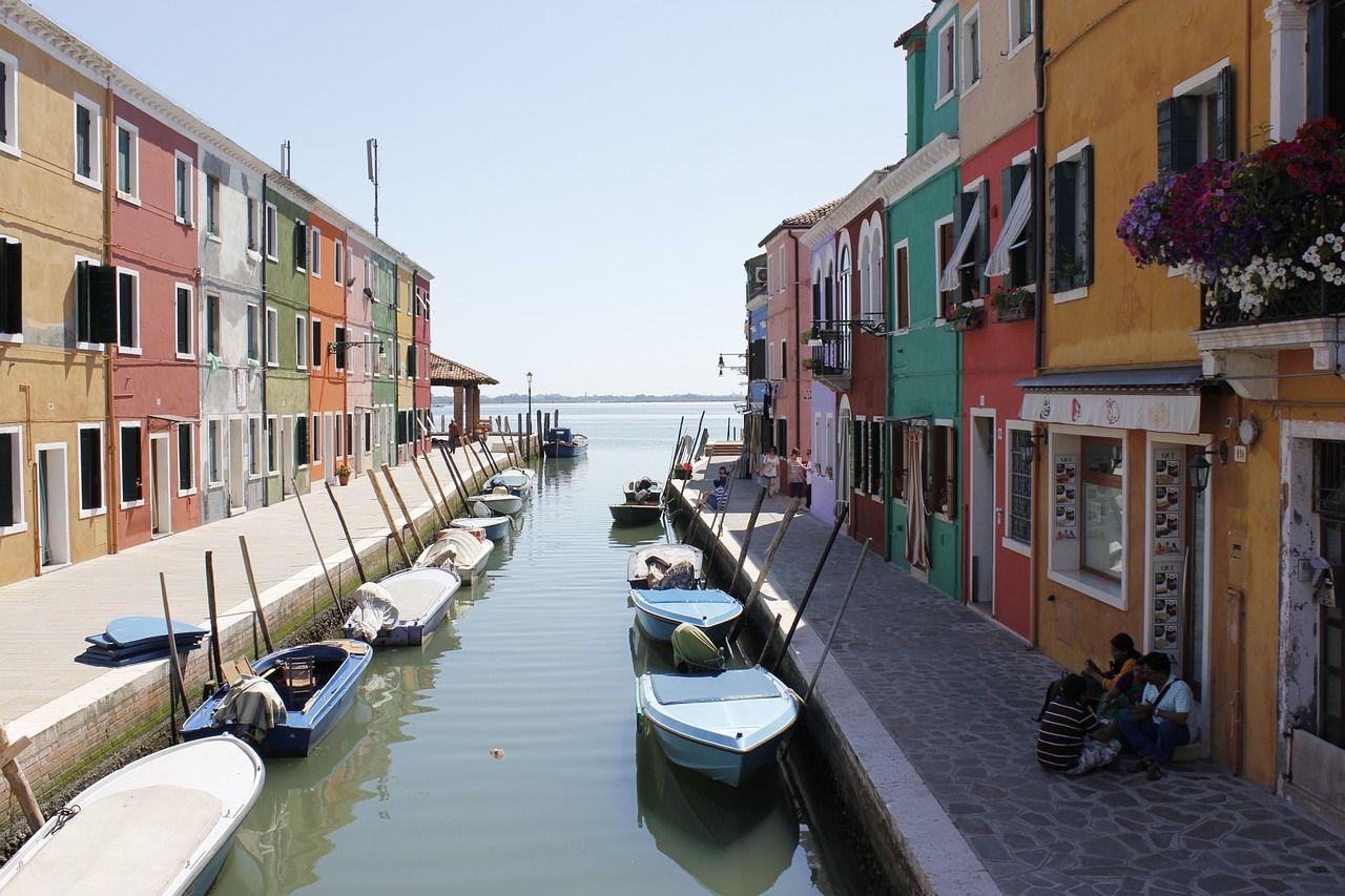 Island Lagoon Venice Burano Channel Lagoonvenice Buranoisland Vacation Visit Alliant Library Dissertation