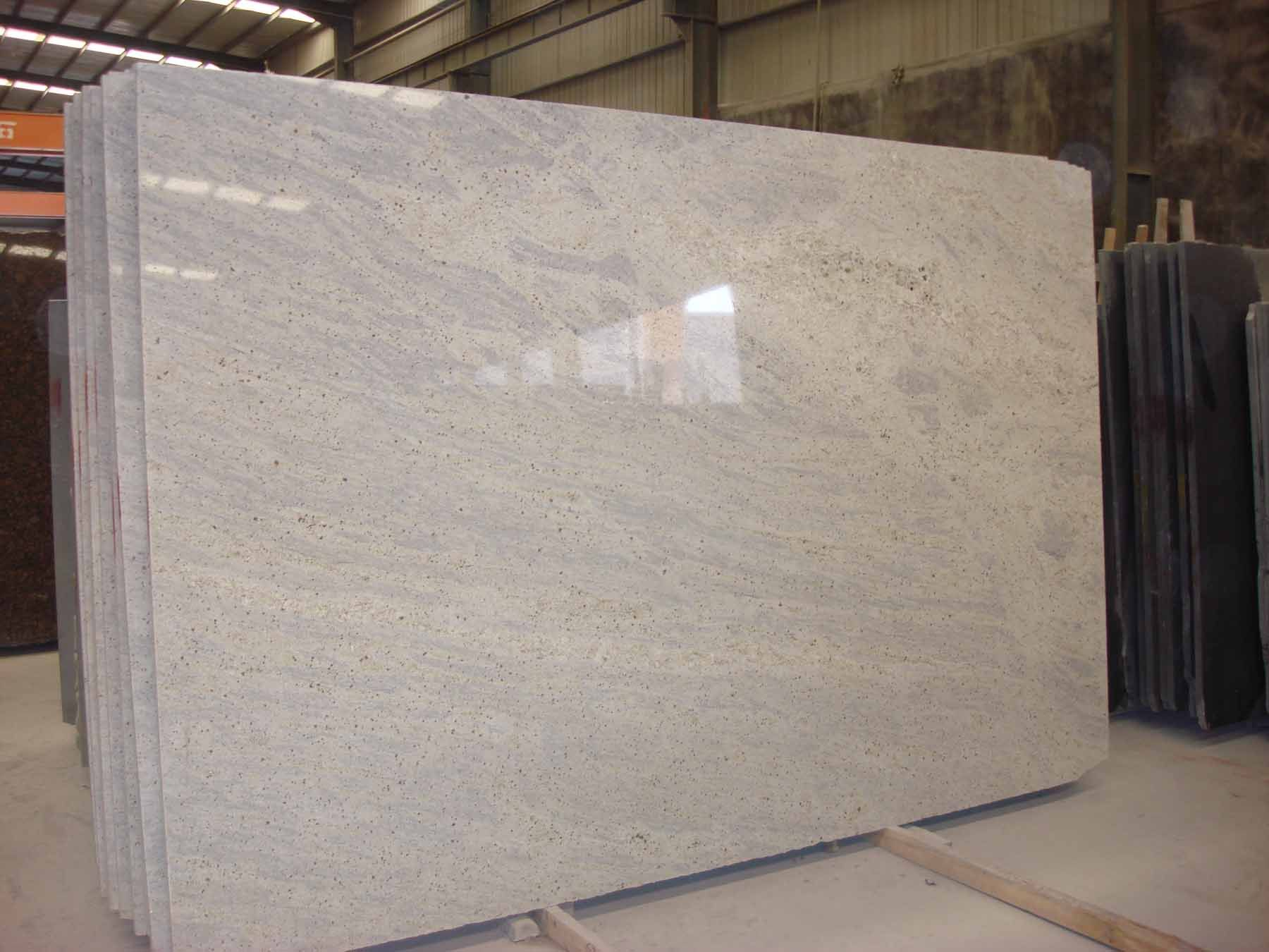 china kashmir white granite slab - large image for kashmir white