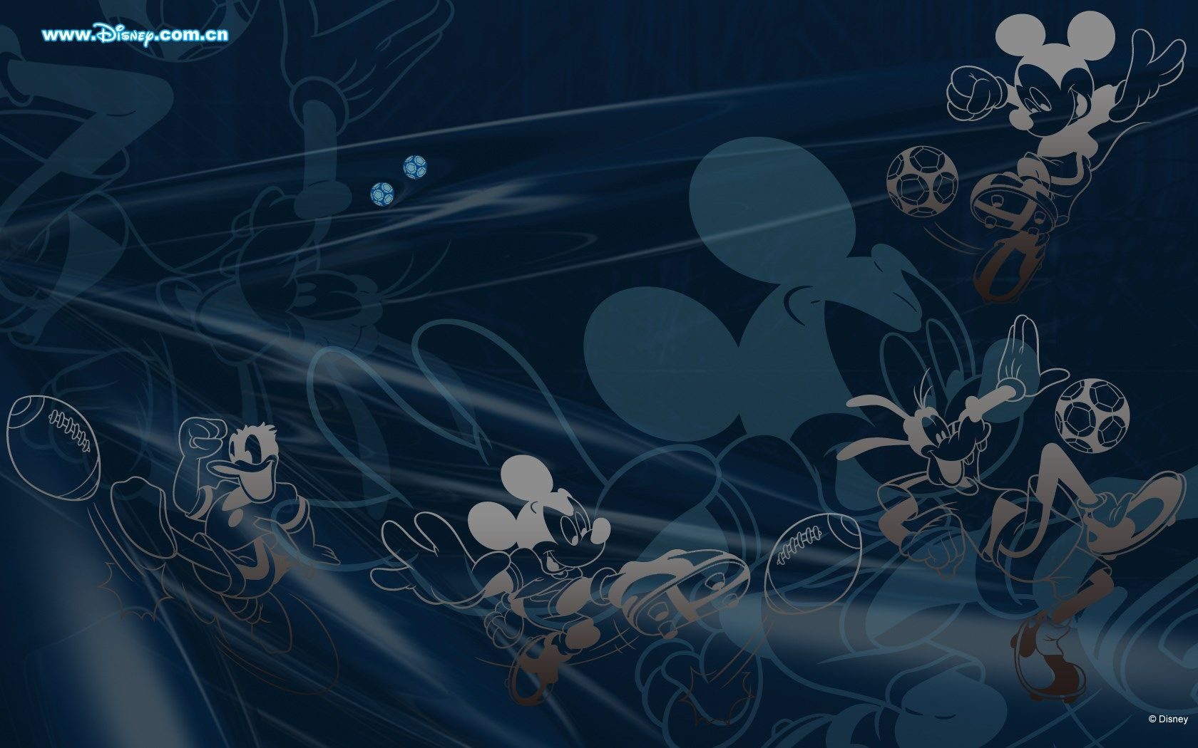 1419159, computer wallpaper for mickey mouse and friends