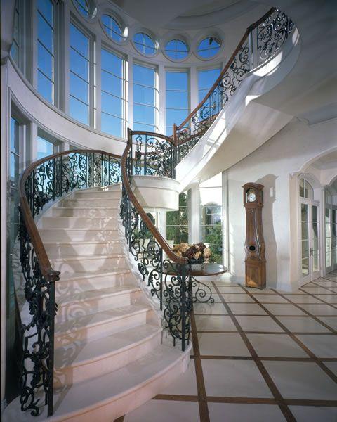 صور درابزين درج للفلل والدوبليكس بأحدث الاشكال ميكساتك Stairs Brick Patios Architectural Features