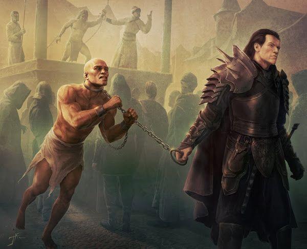Slave (5e Background) - D&D Wiki | D&D in 2019 | Fantasy art