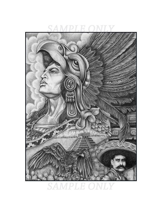 Aztec Drawings My Tattoo Designs Aztec Tattoos Aztec Art Aztec Warrior Tattoo Warrior Tattoo