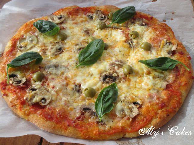 Aly S Cakes Pizza Con Harina De Garbanzo Y Como Congelar Masa Http Alyscakes Blogspot Com Es 2017 03 Piz Harina De Garbanzo Focaccias Receta Masa Para Pizza