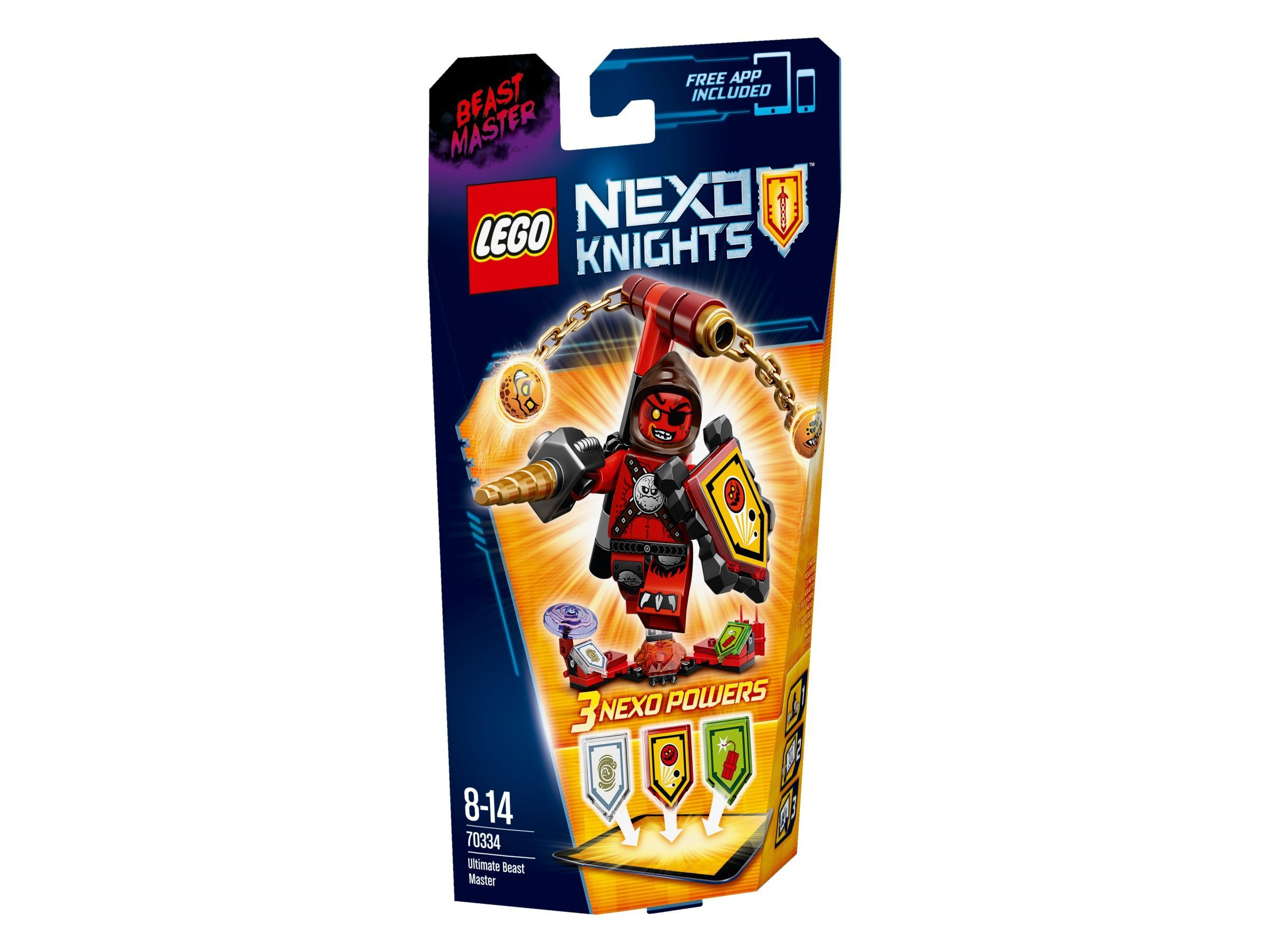 LEGO Nexo Knights 70336 Ultimativer Axl Ultimate Roboter Ritter Rüstung