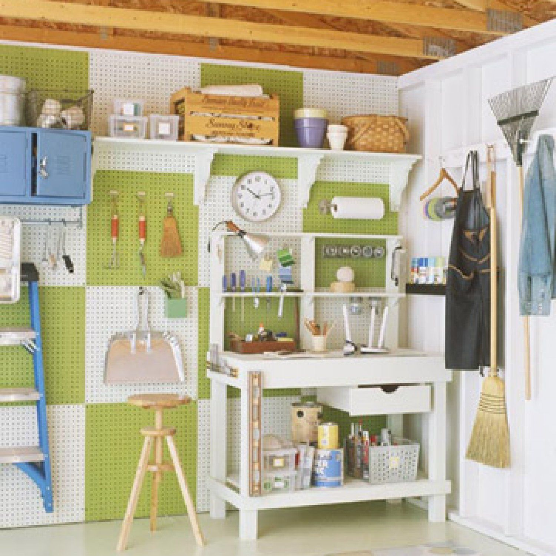 Garage Organization Tips, Diy