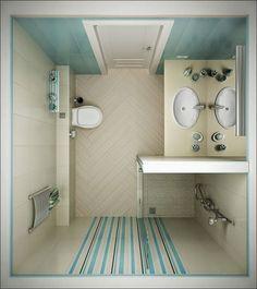11 Excelentes ideas para un cuarto de baño pequeño | Ideas para ...