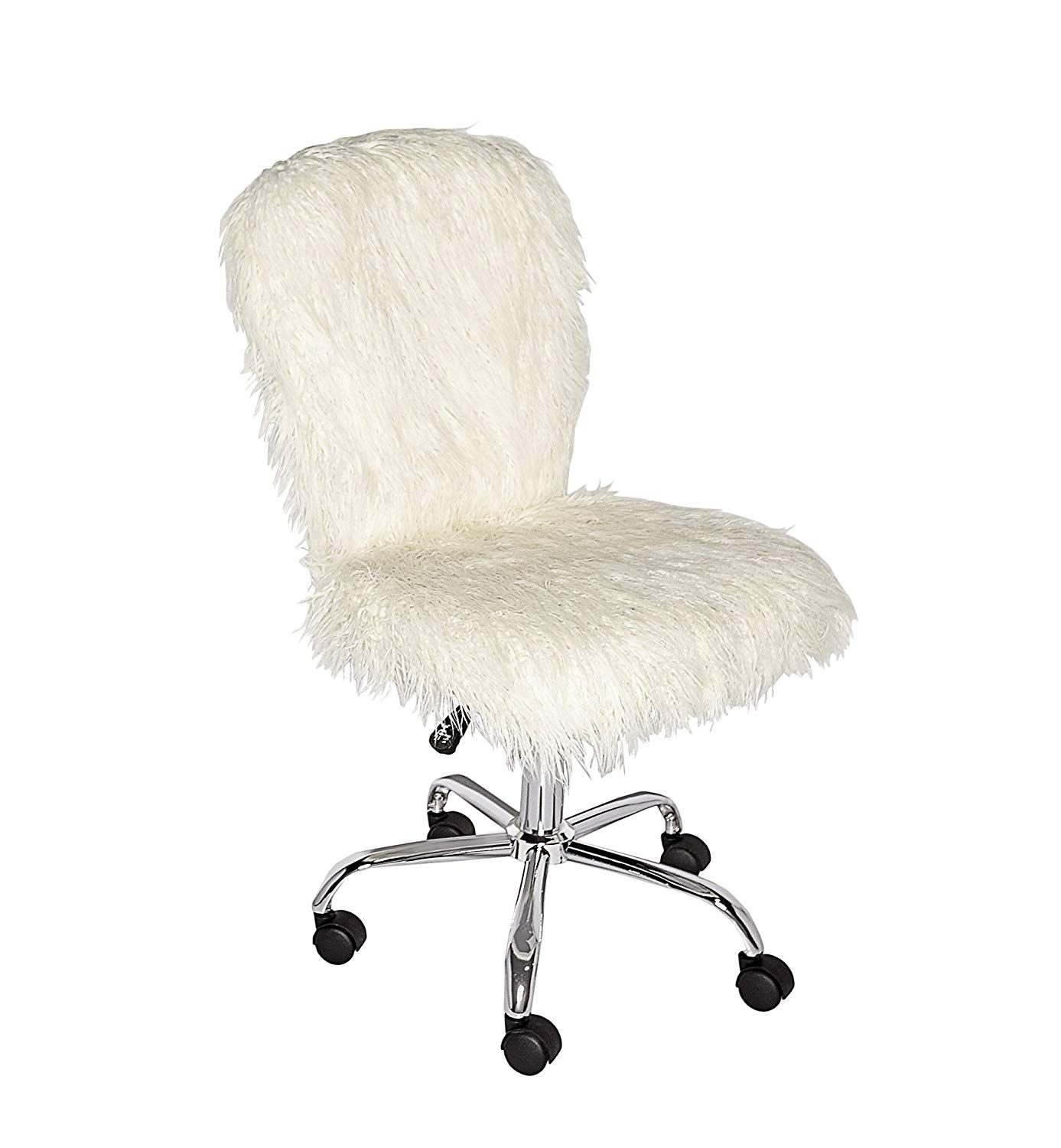 Best 68 Reference Of Fuzzy Desk Chair Amazon In 2020 Modern Office Chair Office Chair White Accent Chair