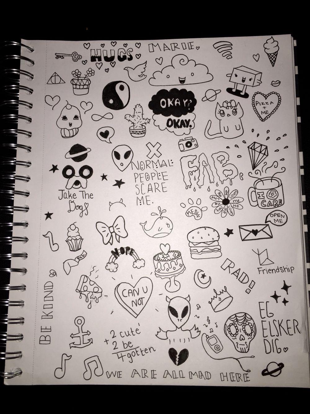 Doodles! Toke me a while haha #Art #Doodles #Cute #Aliens ...