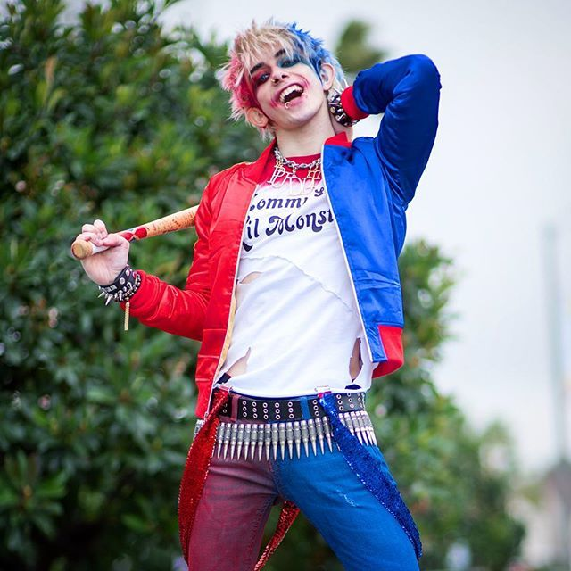 ❤️ What u gonna do? You gonna kill me Miss J?☠ PC: @jrulison #harleyquinn #harley #harleyquinncosplay #harleyquinncosplayer #suicideSquad #suicidesquadcosplay #suicidesquadmovie #suicidesquad2016 #thejoker #dc #dccomics #dccosplay #dcvillain #genderbend #genderbender #genderbent #genderswap #cosplay #cosplayer #cosplaying #cospositive #thecosplayalliance #chrisvillain #villainacademy #heroes #pikaPrince