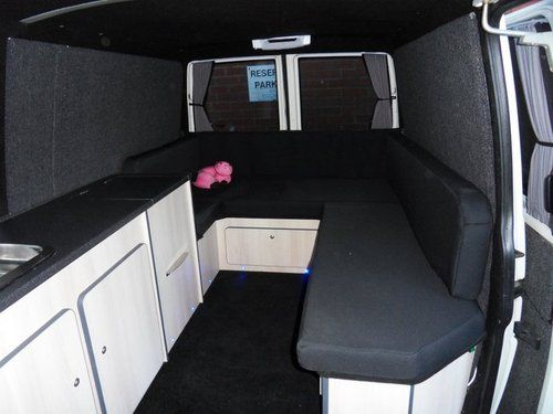 Vw Transporter Camper Day Van Party Bus Interior Conversion For Vw T4 T5 Ebay Cosas Que