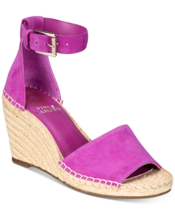 5ea6ab97ce2 Vince Camuto Leera Espadrille Wedge Sandals Women Shoes in 2019 ...