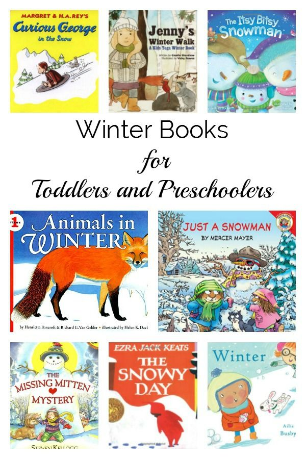 20+ Best Winter Books and Stories for Toddlers and Preschoolers