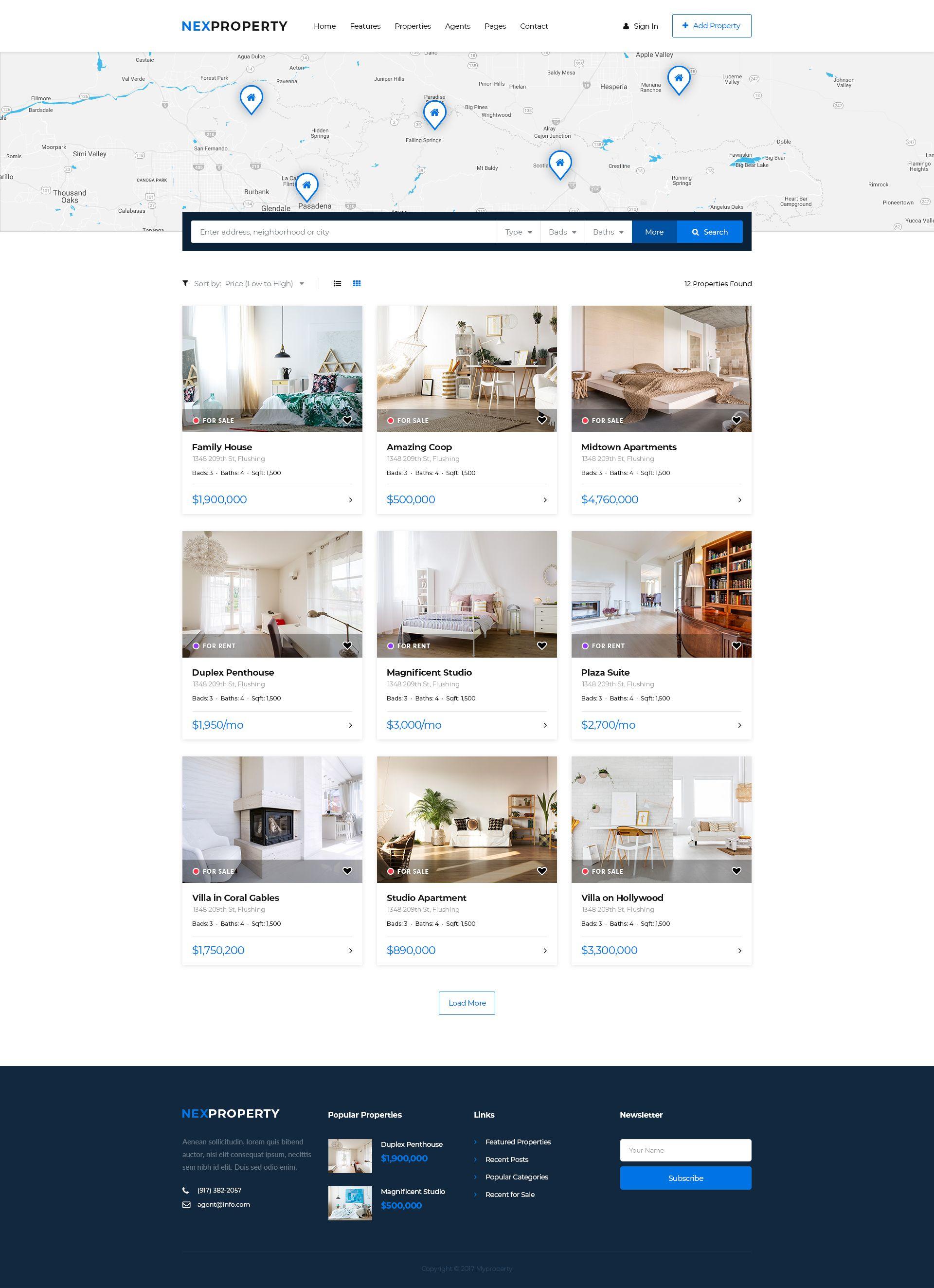 Real Estate Agency Nexproperty Estate Real Nexproperty