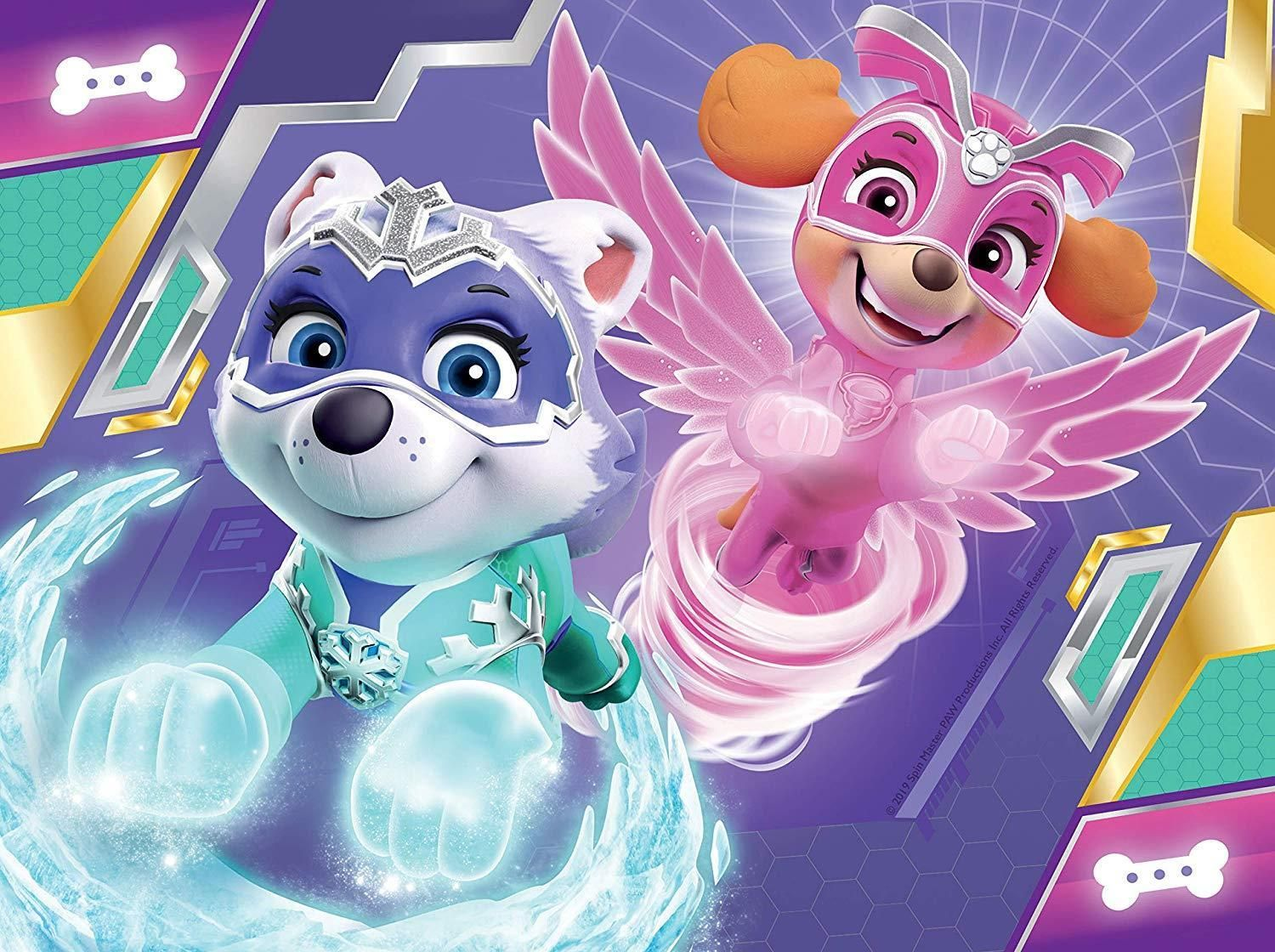 Ravensburger Paw Patrol Mighty Pups 4 In A Box Jigsaw Puzzles Fiesta Paw Paw Patrol Paw Patrol Pups