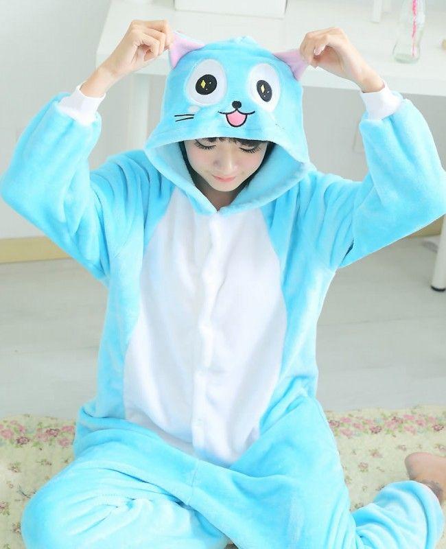 Fairy Tail Happy onesie (1)