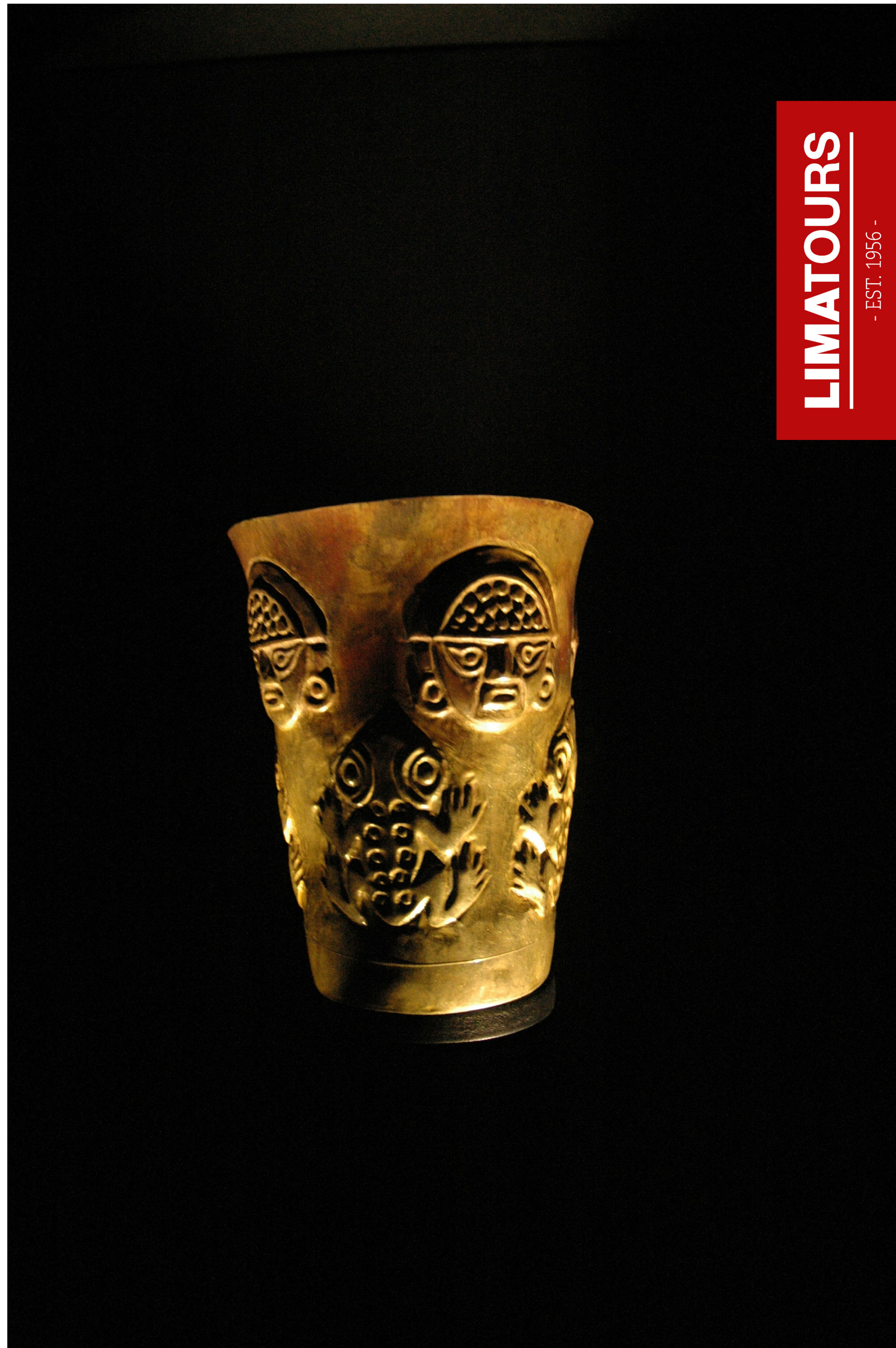 Pre-Inca glass of #gold found in the Gold #Museum #Lima #Peru #travel #legacy #archaeology