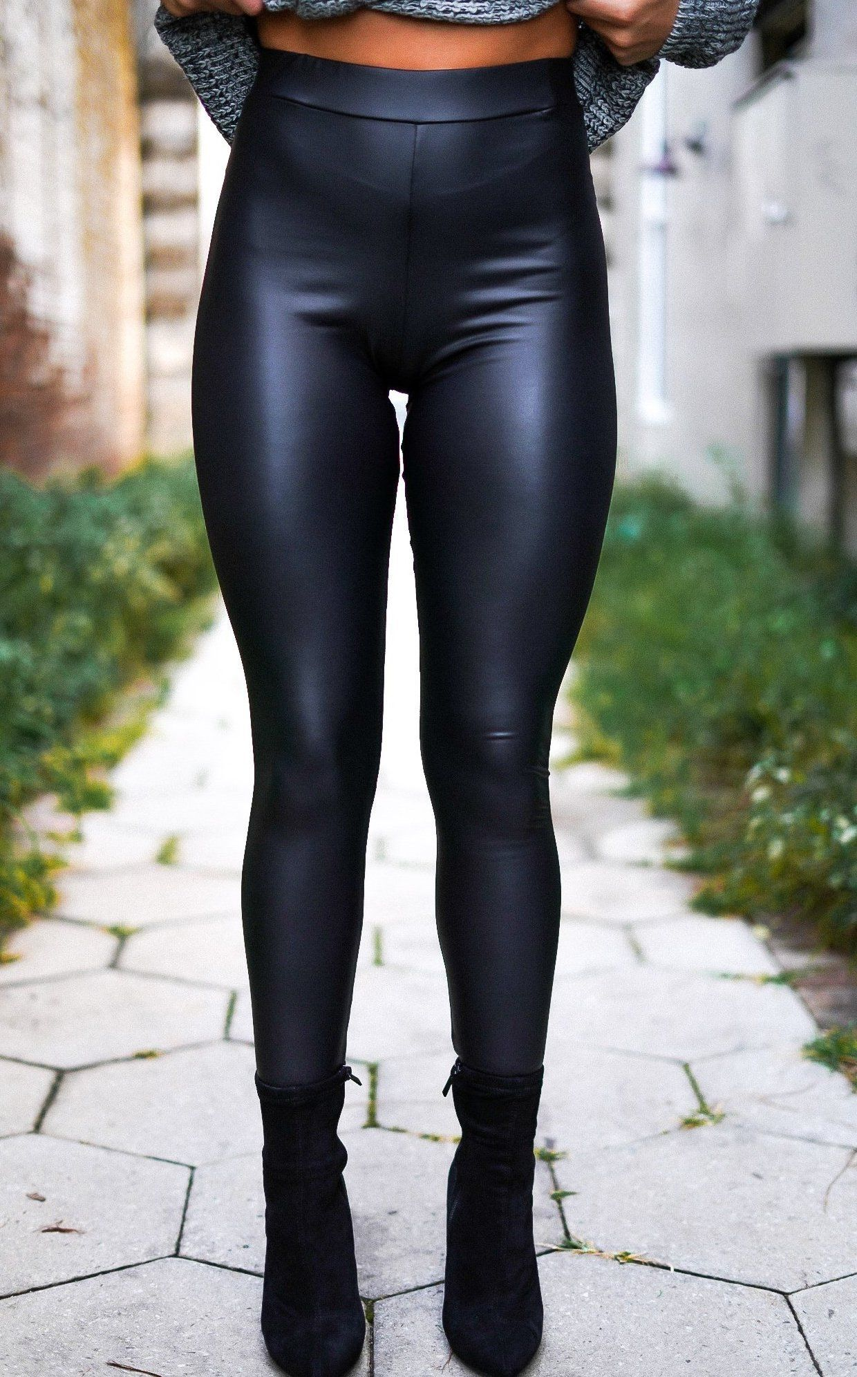 a37906a070f11 Down for the Ride Faux Leather Leggings | fall 2018 | Leather ...