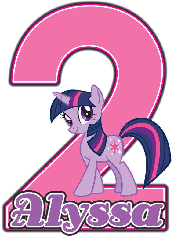 My Little Pony Twilight Sparkle Birthday Party T Shirt