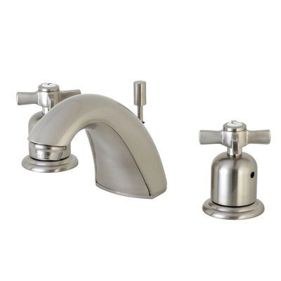 Kingston Brass Millennium Widespread Faucet Bathroom Faucet With