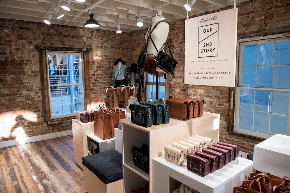 Image result for madewell interior store design Second