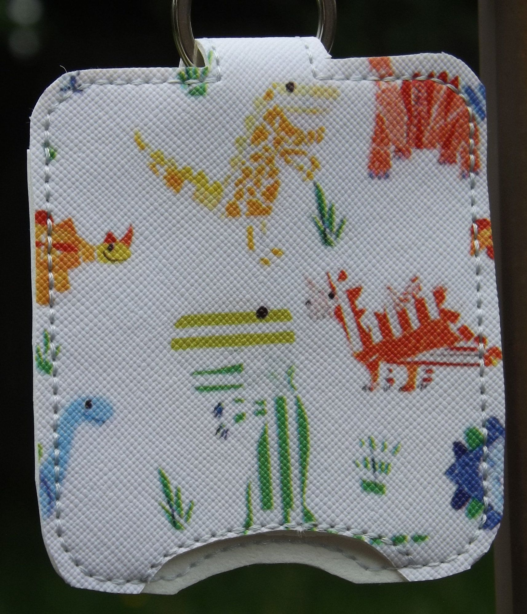 Dinosaur And Solar Activated Hand Sanitizer Or Lotion Holder 2 0z