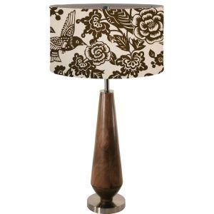 Ellie Table lamp (comes in black flock too!)