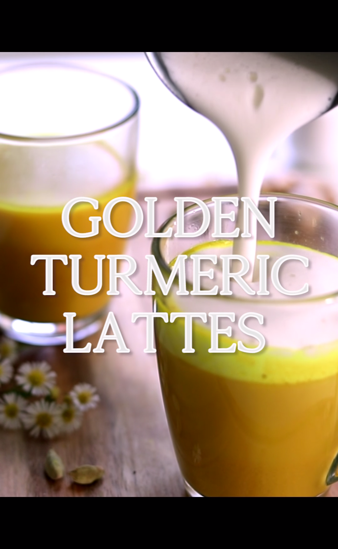 Photo of Golden Turmeric Lattes