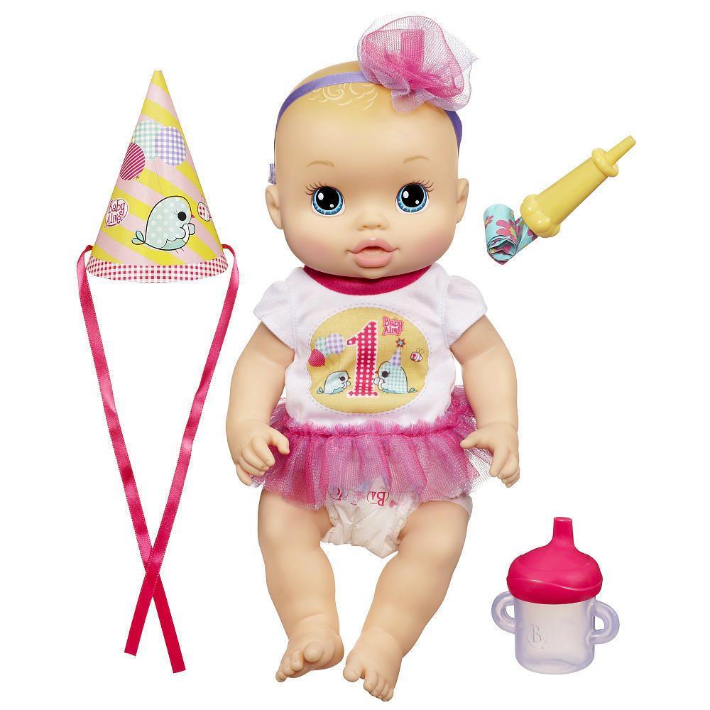 Baby Alive Party Baby Caucasian Nib Hasbro Hasbrobabyalive With Images Baby Alive Dolls Baby Alive Baby Dolls