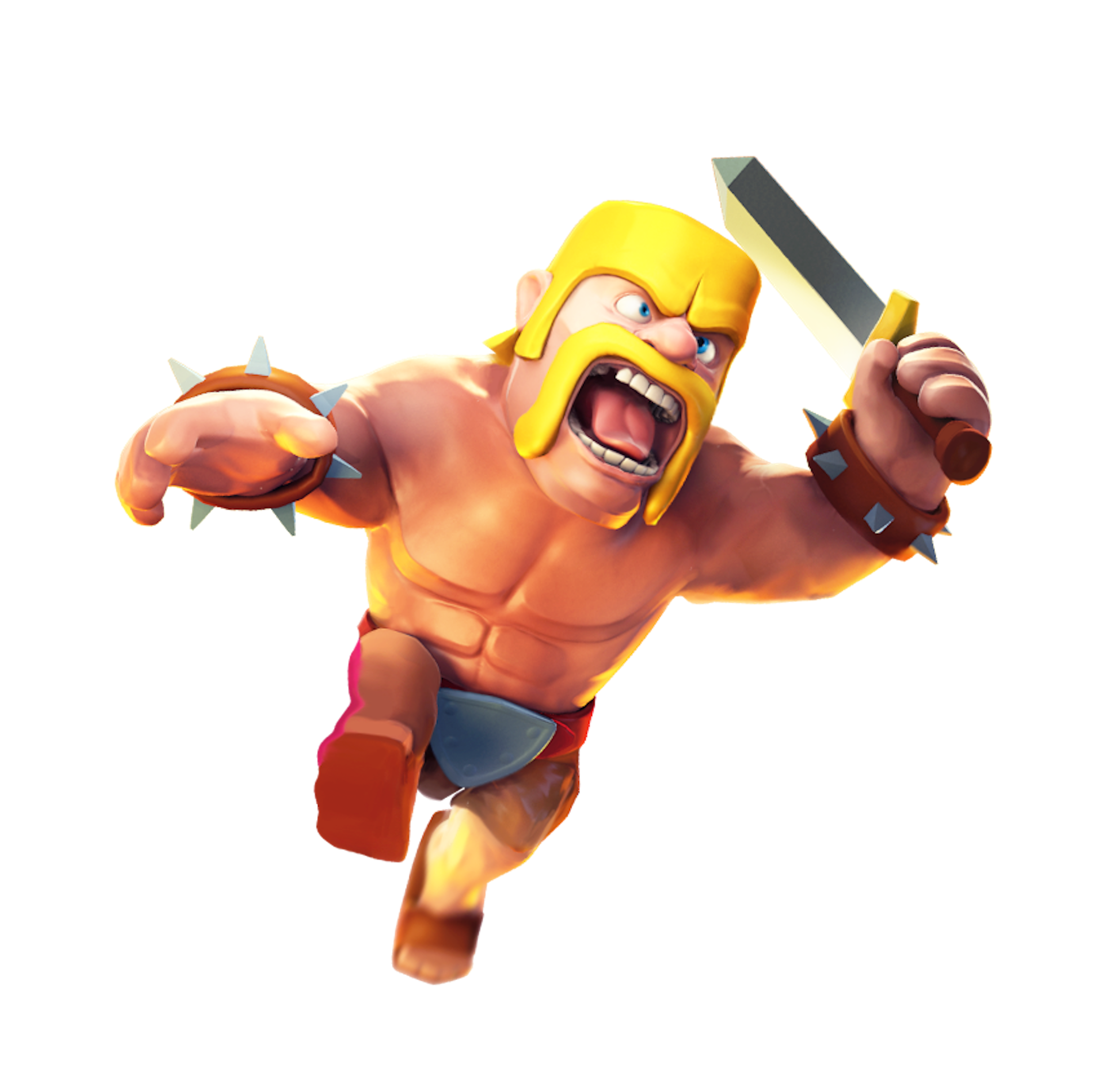 Clash Of Clans Clash Of Clan Barbare Et Jeu Mobile