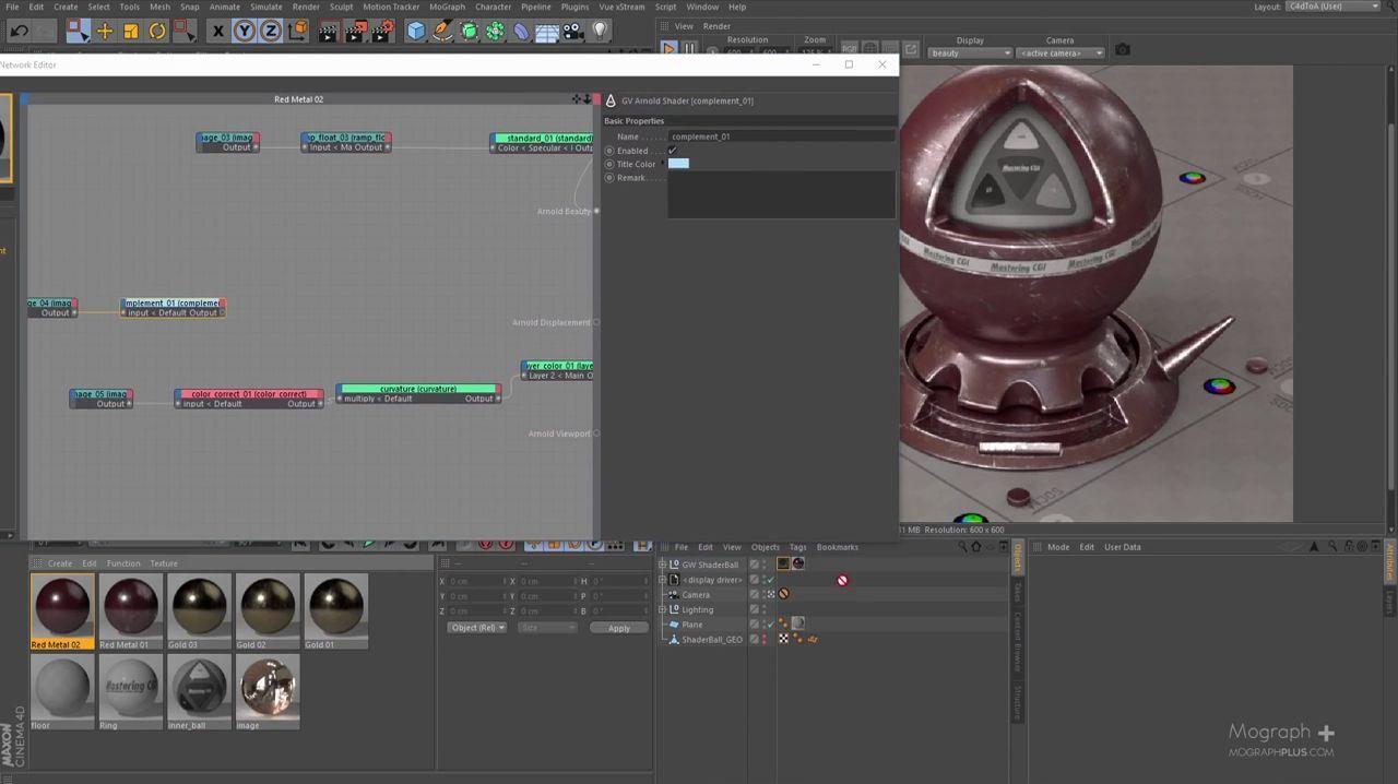 Iron Man, shaders, c4dtoa, mtoa, arnold renderer, rendering