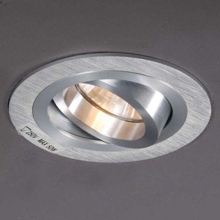 Einbaustrahler Rondoo 1 Aluminium #Einbauleuchte #Lampe #Light #einrichten #Innenbeleuchtung #wohnen