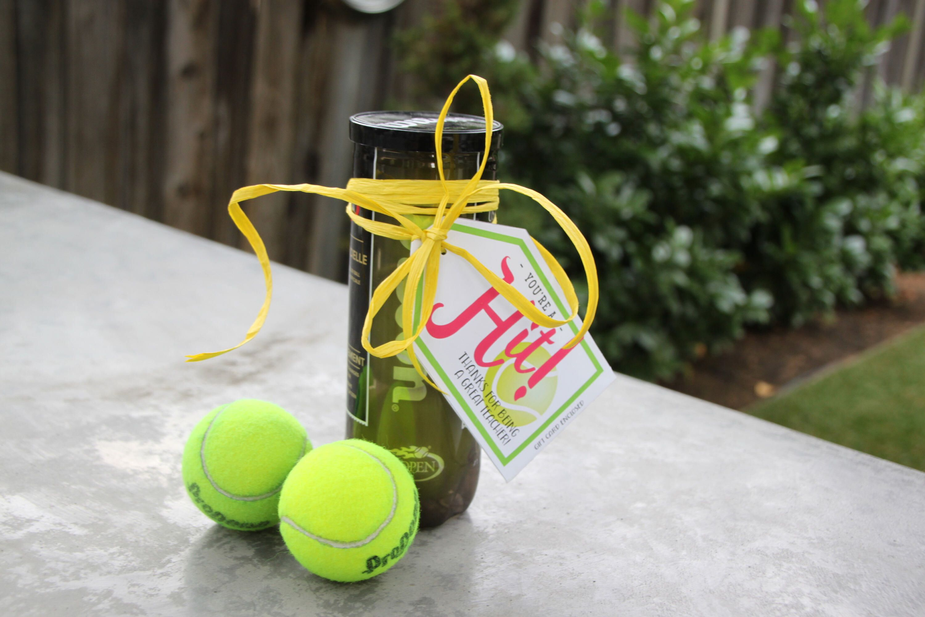 A Personal Favorite From My Etsy Shop Https Www Etsy Com Listing 567442885 Youre A Hit Tennis Gift Tags Great For Gift Tags Tennis Gifts Captain Gifts