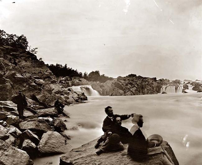 Great Falls VA  From the Civil War era