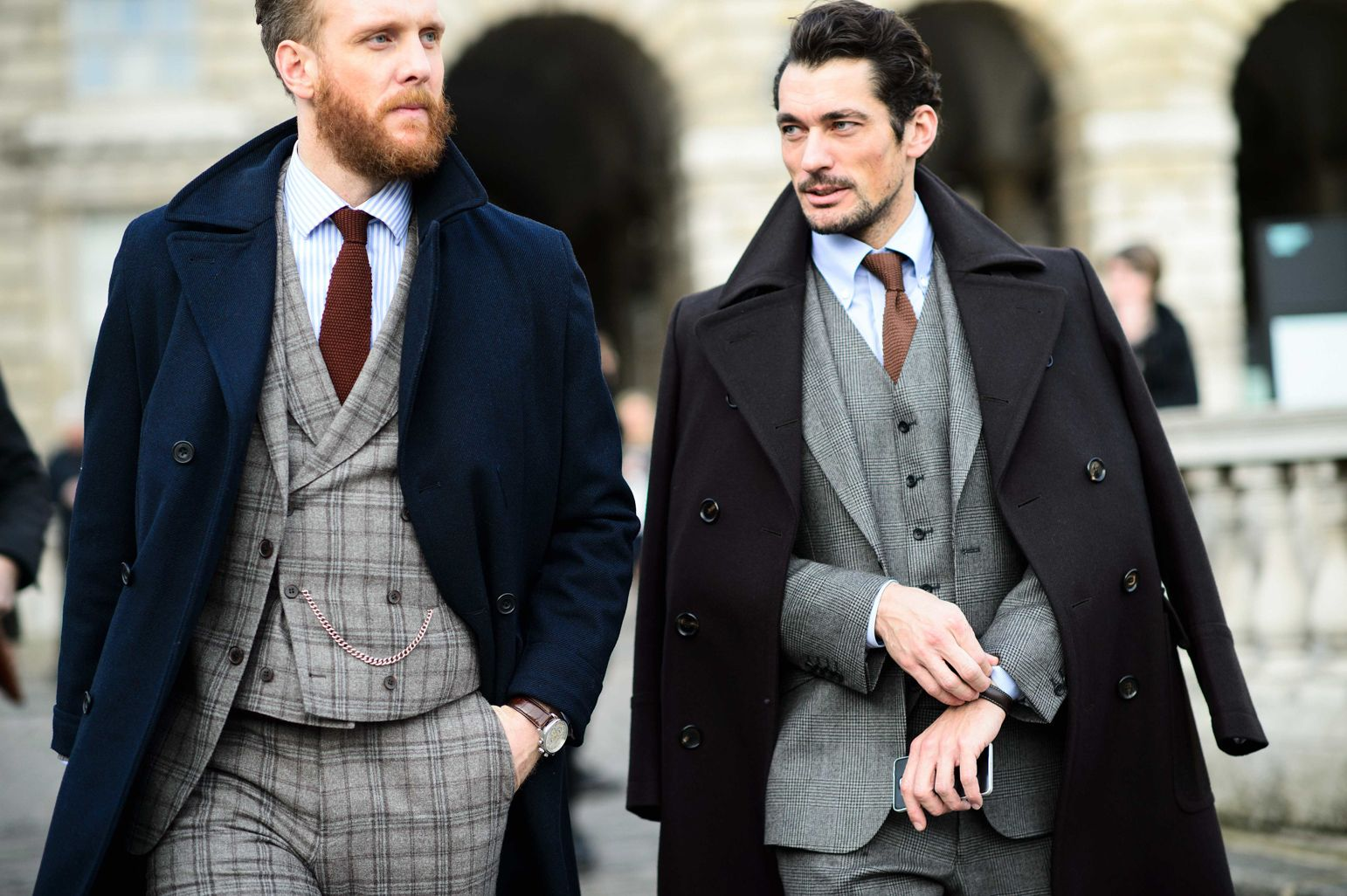 Flannel men's style  The Best Street Style from London Menus Fashion Week Fall