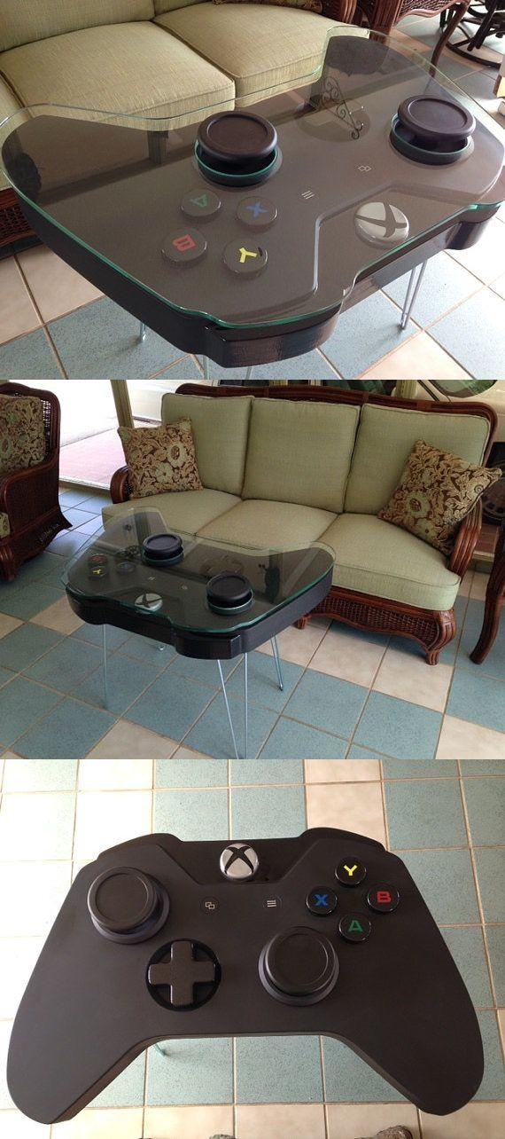 Table Basse En Forme De Manette Xbox Table Basse Xbox Insolite