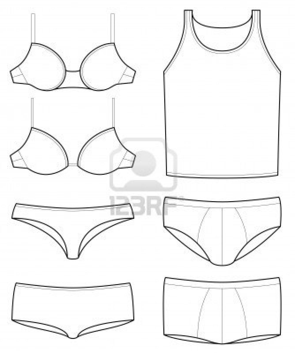 bra template - Google Search