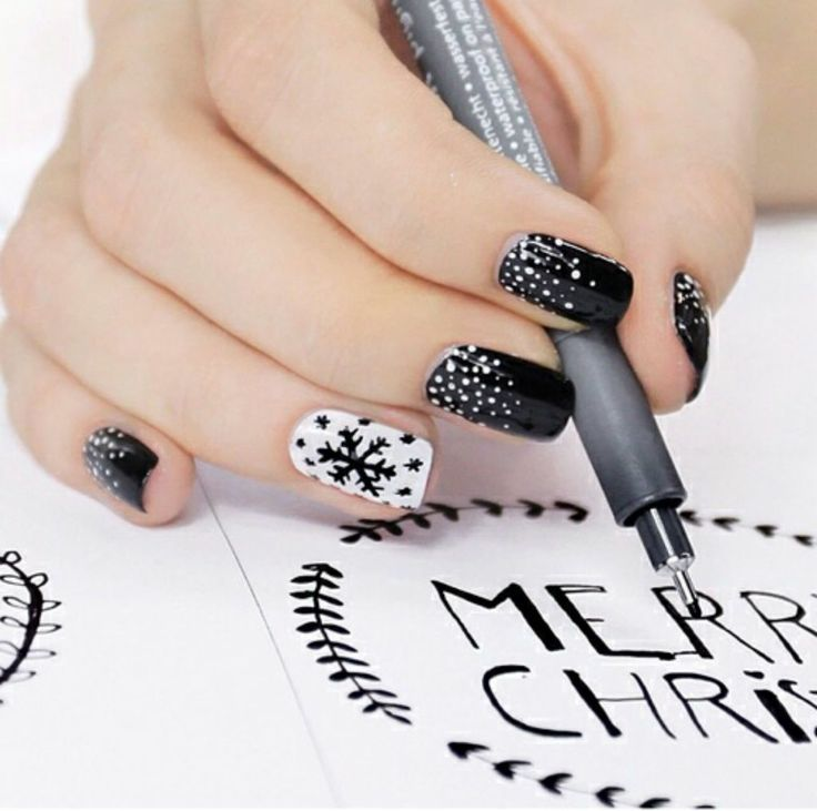 decoración de uñas navideñas | VB Makeup and Nails! | Pinterest ...