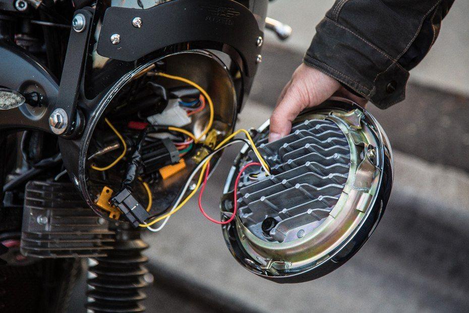 J.W. Speaker Model 8790 Adaptive Low Beam LED Headlight: connects ...