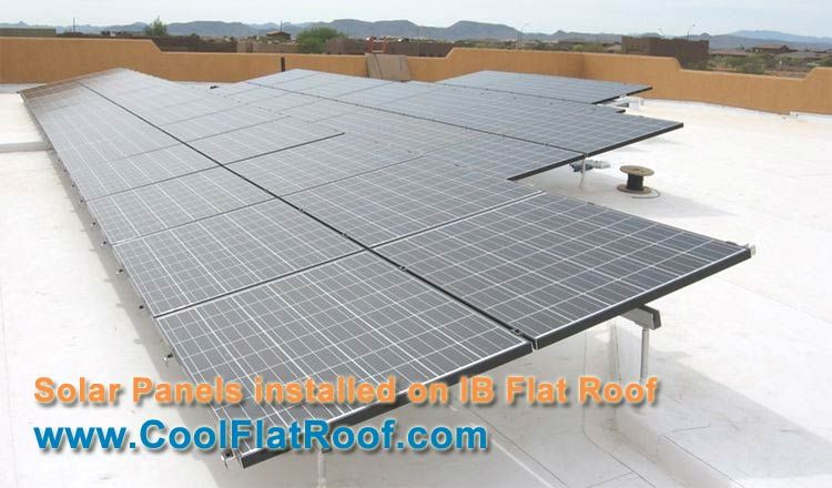 Solar Pv Panels On Cool Flat Roof Solar Solar Panels Homemade Solar Panels