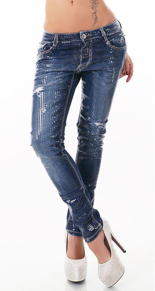 54031a2f40c Dámské moderní džíny