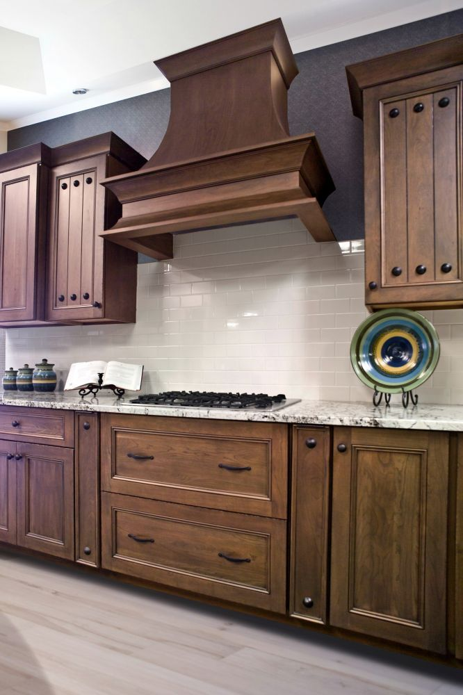 cherry, traditional, cabinets, cabinetry, kitchen, custom ...