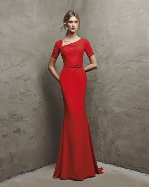 Vestidos de fiesta rojos 2016