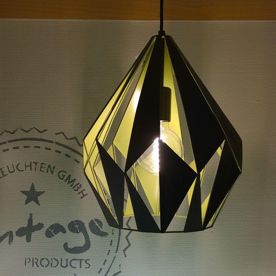 En lampe å hvile øynene på! elegant taklampe fra eglo med vakre ...