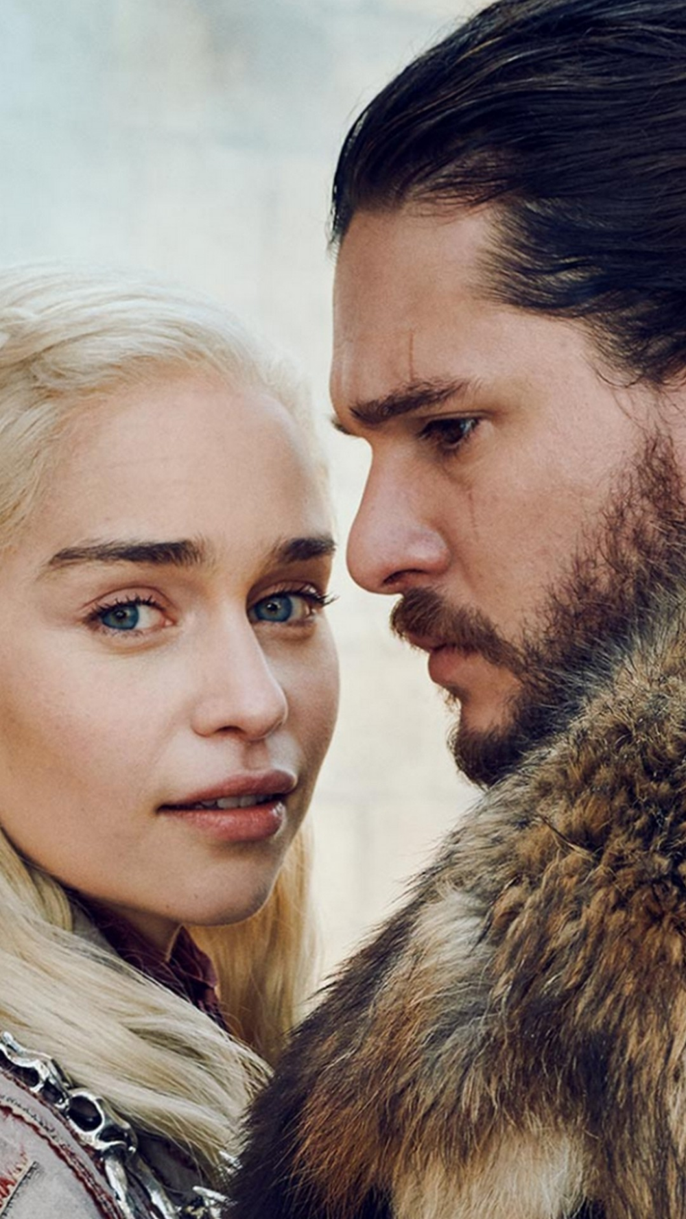 Game Of Thrones 8 Season Wallpaper For Phones With High Resolution 1080x1920 Pixel Download All Jon Snow And Daenerys Jon Snow Aesthetic Snow Wallpaper Iphone